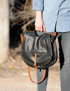 possibly the best purse ever?! want it sooo badly. leather, handmade $220