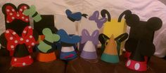 Mickey Mouse Clubhouse Party Hats or Bags by MagicalBoutique, $25.00