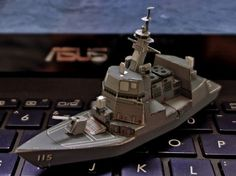 JMSDF Defender Akidsuki Class Free Ship Paper Model Download