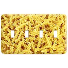 The Fusilli Cover Plates Cover Plates are very unique and cannot be found anywhere else. These USA made metal wall plates are highly detailed and made with some of the newest UV imaging technology available resulting in photograph quality prints on durable metal switchplates.