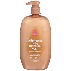 Johnson's Baby Vanilla Oatmeal Baby Wash - 28 oz.