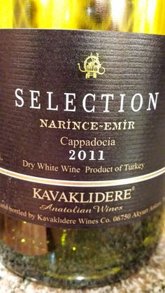 Kavaklidere Winery Selection Narince - Emir 2011