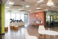 Nuevas oficinas de Direct en Madrid. New Direct headquarters in Madrid. #interiorismo #interiordesign #contract #oficinas #workspace #offices #officedesign #officedeco #diseñográfico #graphicdesign #walldeco #visualidentity #officespace #inspiringoffices #creativeoffices #cooloffices #fineoffices #officesnapshots