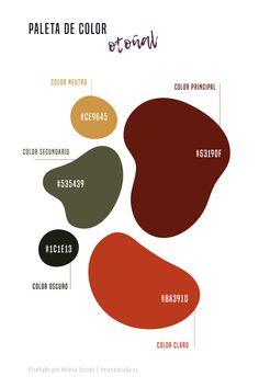 Paleta de color de inspiracion otoñal para tu branding o marca. Gama de colores tierra para tu feed de Instagram. Gama de colores tierra para tus diseños. Brown color palette. #amarillo #otoño #colorotoño #design #colors #colortheme #colorscheme #colorpalette #colorinspiration #autumncolor #verdeotoño #marron