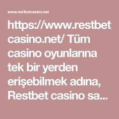 https://www.restbetcasino.net/ Tüm casino oyunlarına tek bir yerden erişebilmek adına, Restbet casino sayfasını inceleyebilir ve üye olabilirsiniz. #restbet