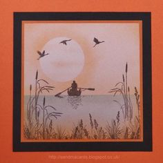 Sandma's Handmade Cards: Orange and Brown