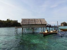 A small hut for the fishermen