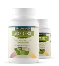 AdaptaGest formulas- to aid in digestion and heal digestive problems from 'real-food' diets