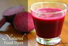 How to Make Natural Food Dyes - Nourishing Joy