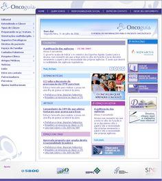Portal Oncoguia by Flex Up #portal #portais #cms #portalsobrecancer #web #web20 #flexup