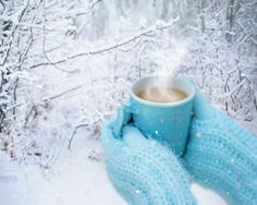 Shop Winter snow hands hot chocolate square paper coaster created by EllenMariesHome. Personalize it with photos & text or purchase as is! Morning Coffee, Good Morning, Blackberry Syrup, Winter Coffee, Chocolate Squares, Snowy Day, Match Making, Back To Nature, Winter Snow