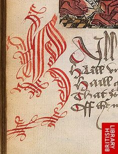Detail of cadel calligraphy