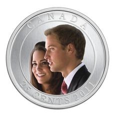 H.R.H. Prince William of Wales and Miss Catherine Middleton - Coloured Coin…