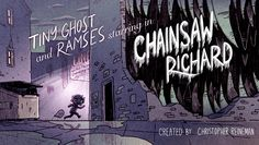 """""""Chainsaw Richard"""" hits Cartoon Hangover on Thursday. If the cartoon were just a five-minute shot of Ryan Andrews's title card, we'd still be jittery with anticipation."""