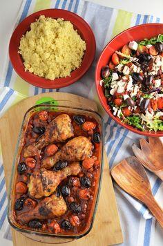 Mancare de naut cu pui Bean Casserole, Delish, Beans, Chicken, Food Ideas, Salads, Beans Recipes, Cubs