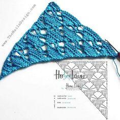 Another idea for crochet summer shawl 😍 . All my patterns under the link in my bio ❤️ . Crochet Diagram, Crochet Chart, Crochet Motif, Crochet Flowers, Crochet Stitches, Crochet Hooks, Crochet Patterns, Poncho Crochet, Crochet Scarves