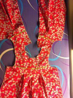 sisko by mieke: Babykleedje met stolpplooi: hoe maakt u het?