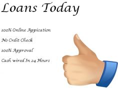 If you are in bad credit and need cash urgently, and you don't have any other option to arrange cash from anybody. Then don't worry Just apply with loans today and get cash very soon without any hassle.
