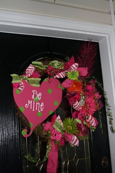 *Valentine wreath