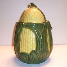 Shawnee: Corn On The Cob Cookie Jar