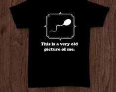 An old picture of me funny t-shirt tee shirt tshirt Christmas family men's unisex fun college geek nerd funny dad father father's day cool