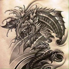 Image result for tattoo cá chép