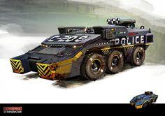 doug telford conceptual design | Vehicles