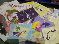 Concurs de Dibuix de la Biblioteca i la DO Montsant, molts participants...