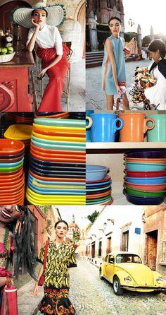 :D❤️❤️❤️❤️❤️ Color, Color, Color!!! FIESTAWARE!