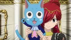 Fairy Tail Erza Scarlet and Happy Gajeel And Levy, Jellal And Erza, Natsu And Lucy, Fairy Tail Love, Fairy Tail Anime, Erza Scarlett, Fairy Tail Erza Scarlet, Free Prints, Monster