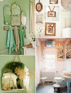 Mirror Wall Mirror Wall Collage, Mirror Walls, Mirrors, Wall Art, Adventure Style, Collage Vintage, Bedroom Wall, Vintage Decor, Decorating Your Home