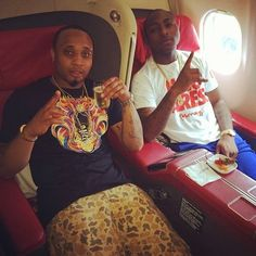 "Davido's recent rant on Twitter about a member of his HKN family hating on him over his new artiste Mayorkun's success seems to be directed at his long time friend and HKN label mate B-red. B-Red obviously knew the shade was directed at him and he took to snapchat to post a not-so-direct message saying""From 2day somethings will change"".  Davido being the no-nonsense blunt artisite he is replied the message directly by posting: ""So you had the gut to go on Snap to write that! No respect at…"
