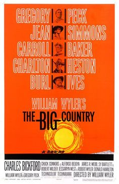 The Big country (Saul Bass)