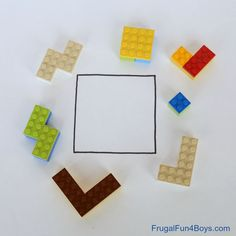 LEGO Brain Puzzles: Building Challenge for Kids
