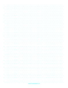 Graph Paper With HalfInch Triangular Grid Allows You To Graph