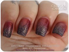 OPI San Francisco Nail Art Reds on the Rocks