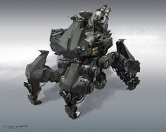 ArtStation - Suppression of the robot, levy wang