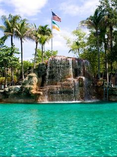 Crafted from a coral rock quarry, the 90-year-old Venetian Pool has long been a Miami-area favorite, and is on the National Register of Historic Places.