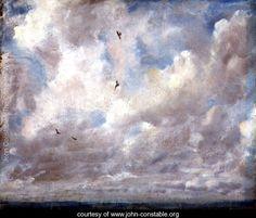 Cloud Study, 1821 - John Constable - www.john-constable.org