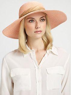 light pink/blush Eugenia Kim Catherine Sculpted Sun Hat