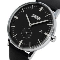 Best quality premium band, quartz movement, Buy-it-now and have delivered to your door with Free Shipping.  Sale price is valid for a limited time only. From 109 USD to 29 USD !!! Only on menswatchbox.com
