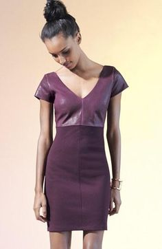 Plum please! Bailey 44 Dress & Accesories