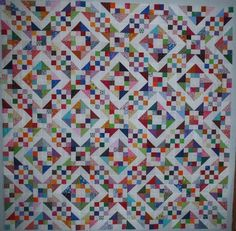 The pattern is Sunny Lanes by Pat Speth.