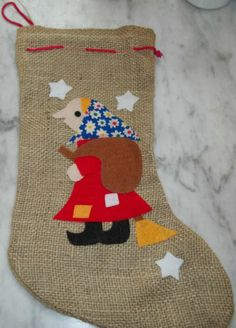 La Befana Strega Nonna Italian Christmas Witch Holiday Decor Stocking 18 Italy