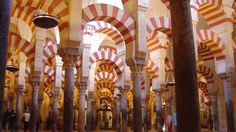Cordoba, Spain - La Mezquita Pillars