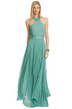Simple elegance in this Beach Pebble Gown by Sachin + Babi