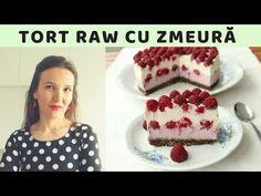 Tort raw cu zmeură   500 de abonați 🍒 Rawmona - YouTube Tiramisu, Cheesecake, Deserts, Ethnic Recipes, Youtube, Food, Cheese Cakes, Desserts, Eten