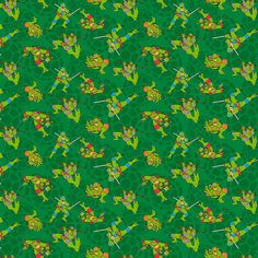 Nickelodeon TMNT Mutates in 1984 - 1 yard - Springs Creative