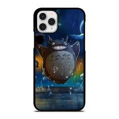 TOTORO CARTOON 2 iPhone 11 Pro Case Cover  Vendor: Casesummer Type: iPhone 11 Pro Case Price: 14.90  This luxury TOTORO CARTOON 2 iPhone 11 Pro Case Cover shall secure your iPhone 11 Pro phone from every drop and scratches with impressive style. The durable material may provide the excellent protection from crash to the back sides and corners of your Apple iPhone. We manufacture the phone cover from hard plastic or silicone rubber in black or white color. The frame profile is thin easy to… Iphone 11 Pro Case, Totoro, Phone Cover, Apple Iphone, Silicone Rubber, Cartoon, Profile, Plastic, Type
