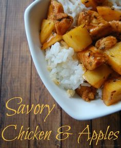 Savory Chicken and Apples